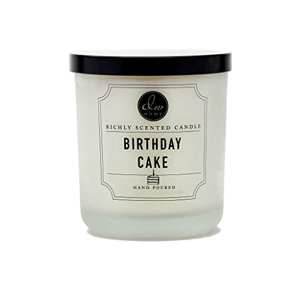 壮大派生する繕うDW ホーム バースデーケーキ リッチな香り キャンドル S サイズ シングル灯心 手作り 4 オンス