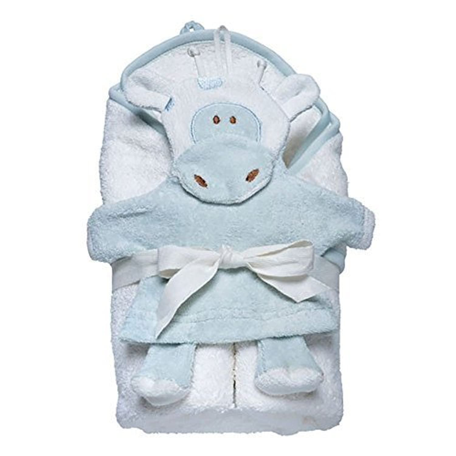 Under the Nile Hooded Towel and Wash Mitt Set - Giraffe by Under the Nile [並行輸入品]
