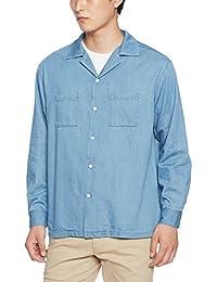 (ウィゴー)WEGO(ウィゴー) デニムオープンカラーシャツ