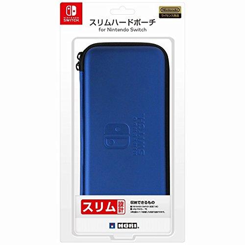 【Nintendo Switch対応】スリムハードポーチ for Nintendo Switch ブルー