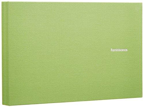 SEKISEI アルバム ポケット ハーパーハウス レミニッセンス ミニポケットアルバム 2Lサイズ 40枚収容 2L 21~50枚 布 グリ-ン XP-40G
