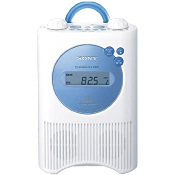 SONY CDラジオ 防滴仕様 ブルー ICF-CD74/L