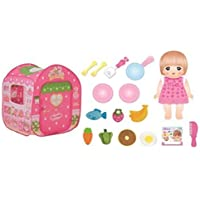 Mel-chan doll set Mel-chan and Nene-chan large Ouchi DX set of strawberry