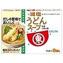 ヒガシマル醤油 減塩うどんスープ 6袋×10箱入×(2ケース)