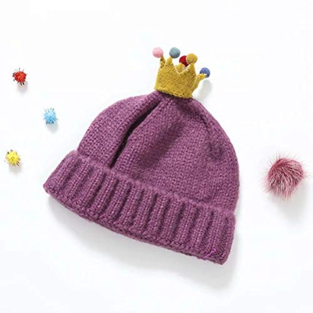 でも枯渇する入場赤ちゃん帽子 秋冬 防風 防寒 保温 ニット帽 通気性 子供用 可愛い キャップ カジュアル ハロウィンプレゼント 女の子 男の子 クラウン 帽子
