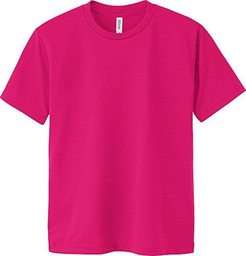 [グリマー]半袖 4.4オンス ドライ Tシャツ [クルーネック] 00300-ACT ホットピンク WL サイズ [レディース]