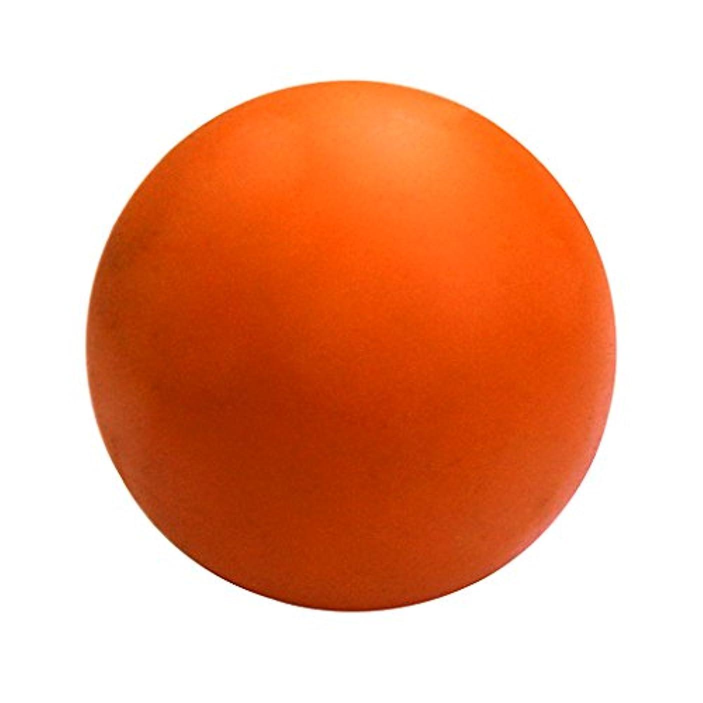 制裁信頼死傷者D DOLITY ラクロスマッサージボール 運動療法 足 腕 首 背中 足首 筋肉マッサージ オレンジ