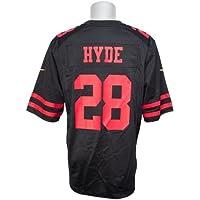 Nike(ナイキ) サンフランシスコ?49ers カルロス?ハイド ユニフォーム/ジャージ ゲーム (ブラック)