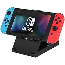 KetenTech Nintendo Switch スタンド 任天堂プレイスタンド 角度調整可能 折りたたみ式スタンド ニンテンドースイッチ用 iPad・スマホ適用