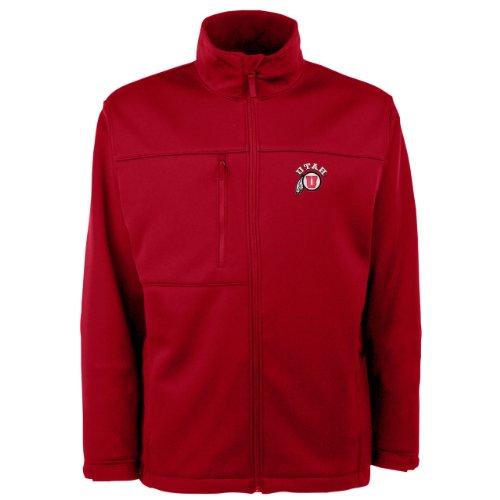 NCAAユタRunnin Utesトラバースジャケットメンズ 3L レッド