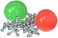Vintage Toys Double Jax Retro 2 Hi-Bounce Balls & 16 Metal Jacks In/Outdoor Toy