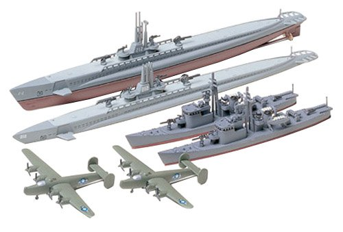 1/700 ウォーターライン ガトー級/13号駆潜艇セット (903)