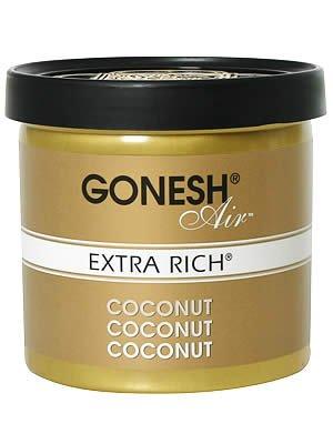 GONESH ゲルエアフレッシュナー エクストラリッチ ココナッツ