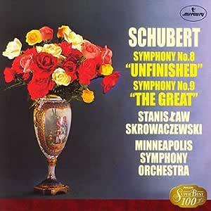 シューベルト:交響曲第8番&第9番