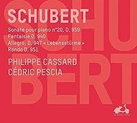 Schubert: Sonate pour piano n.20, D. 959 / Fantaisie D. 940 / Allegro, D. 947 Lebenssturme / Rondo D. 951
