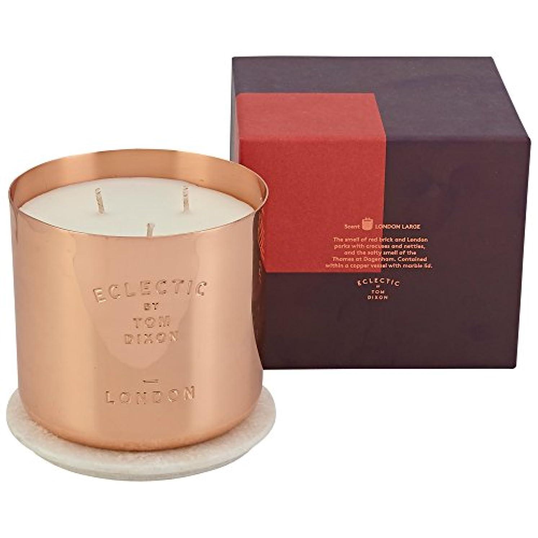 布中に白いTom Dixon London Scented Candle Large - トム?ディクソン、ロンドン大の香りのキャンドル [並行輸入品]