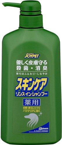 ジョイペット 薬用スキンケアリンスインシャンプー 犬用徳用 600ml