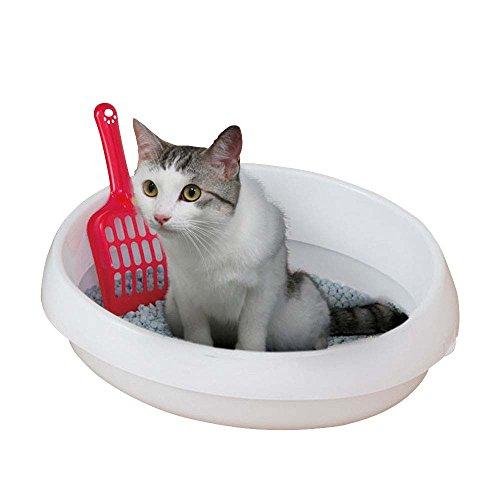 アイリスオーヤマ ネコのトイレ390 P-NE390 しろ