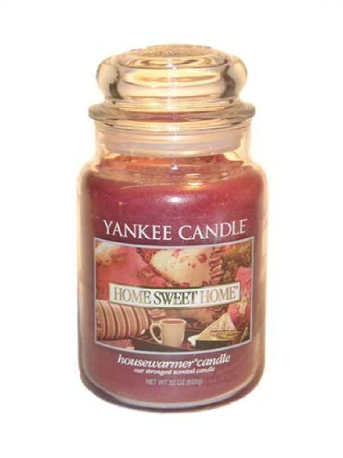 Yankee Candle Home Sweet Home Large Jar 22oz Candle by Amazon source [並行輸入品]