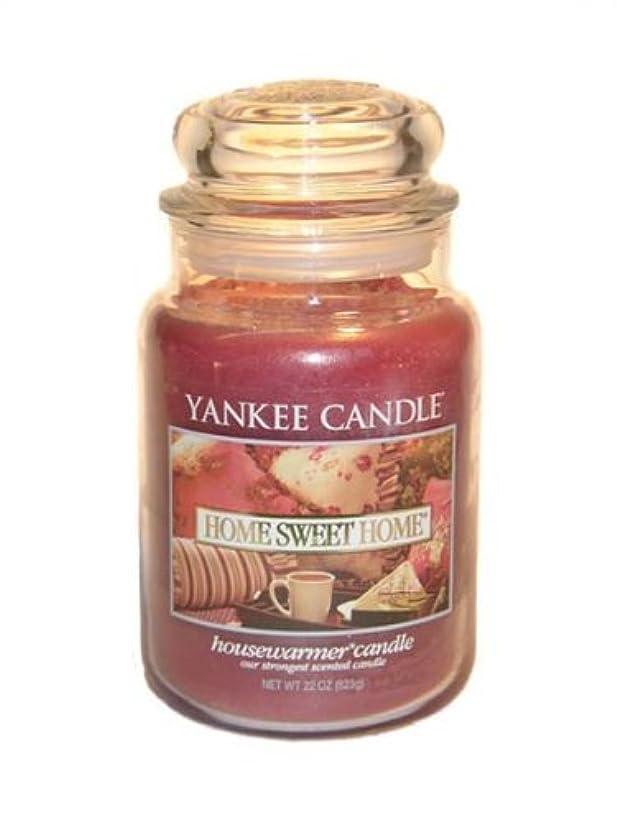 船尾反応するオーラルYankee Candle Home Sweet Home Large Jar 22oz Candle by Amazon source [並行輸入品]