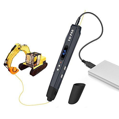Inlight 低温3Dペン スピード調整機能 温度調整機能 立体の絵を描く ABS PLAフィラメント付属