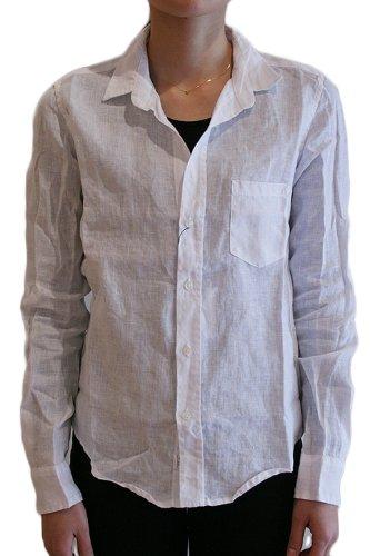 BARRY レディースシャツ LINEN WHITE フランク&アイリーン