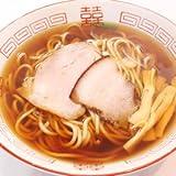 長尾中華そば 『あっさり』 (中太麺)