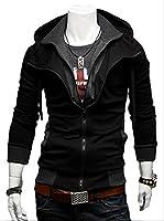 (アルファーフープ) α-HOOP メンズ ファッション ジャケット フード 付き ジップ アップ 長 袖 アウター パーカー 上着 大きい サイズ も M ~ XXL まで 男 性 用 a-20…