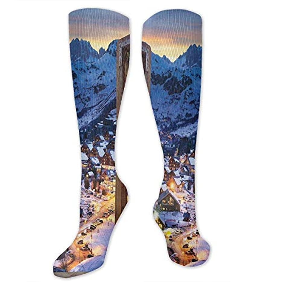 試してみる取り組む第靴下,ストッキング,野生のジョーカー,実際,秋の本質,冬必須,サマーウェア&RBXAA Women's Winter Cotton Long Tube Socks Knee High Graduated Compression...