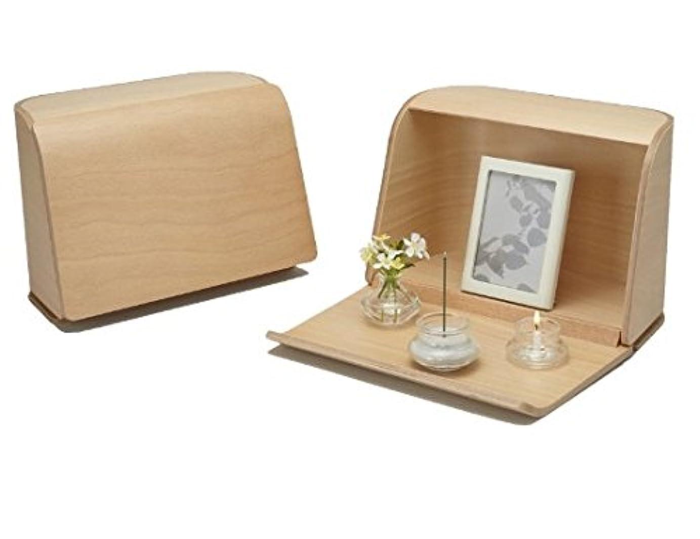 パネル見捨てる変換するやさしい時間祈りの手箱ナチュラル × 3個セット