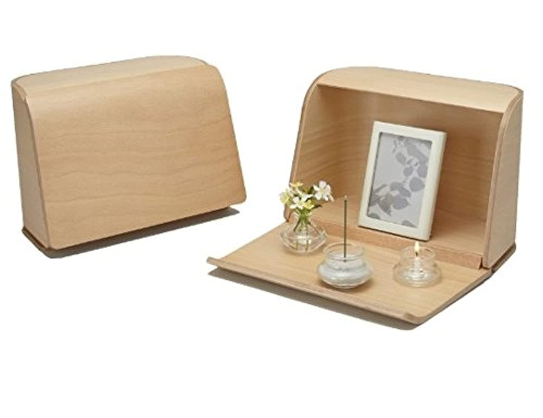 リーフレットなに株式やさしい時間祈りの手箱ナチュラル × 3個セット