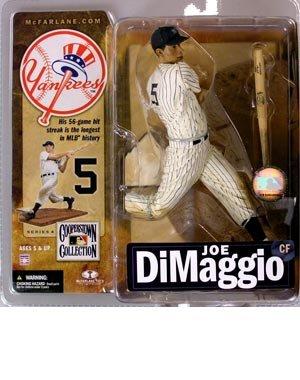 マクファーレントイズ MLB クーパーズタウン シリーズ4 ジョー・ディマジオ ニューヨーク・ヤンキース