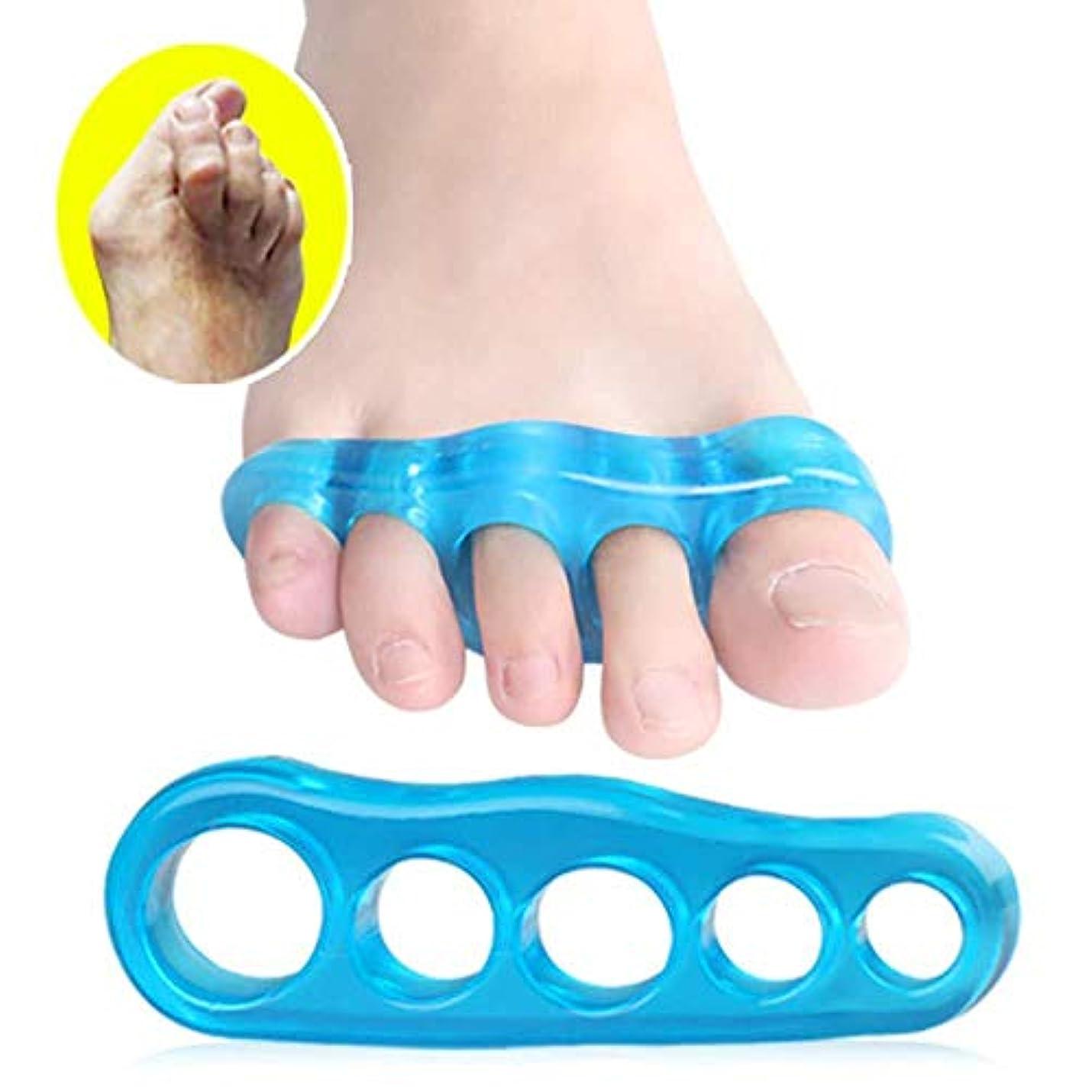 彼らは刈る永久親指の炎症、ゲルトウセパレーター滑液包炎スプリントパッドシリコントウストレートナーヨガプロテクターハンマートウブレース,M