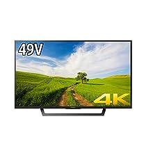ソニー 49V型 液晶 テレビ ブラビア KJ--49X7000D 4K Android TV 外付けHDD録画外付けHDD裏番組録画 2016年モデル