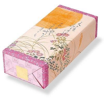 長岡京 小倉山荘 定家の月 化粧箱(小)(サラダ5枚・和三盆5枚・えび5枚)