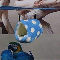 FidgetGear 小動物15x16cmベッドハンモックケージの装飾のおもちゃのためにヘッジホッグ Color One size