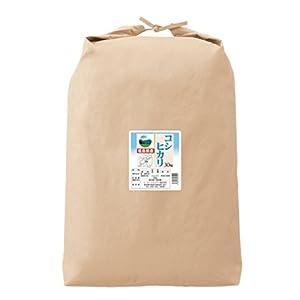 福島県産 玄米 中通りコシヒカリ (異物除去調製済) 30kg 平成29年産