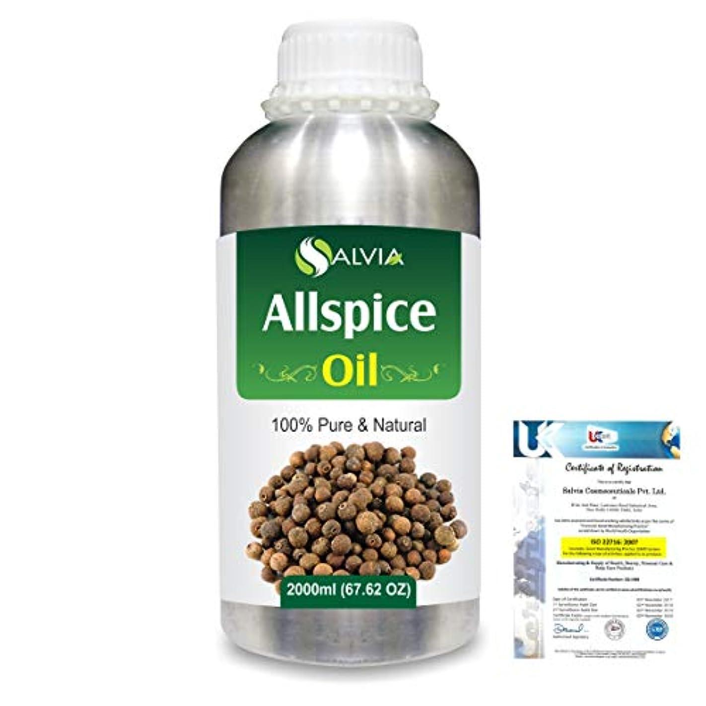 エレベーター行商ペルメルAllspice (Pimenta officinalis) 100% Natural Pure Essential Oil 2000ml/67 fl.oz.