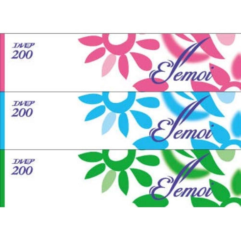 鍔上げる可塑性カミ商事 エルモア ティシュー (3個入)