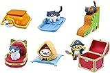ねこあつめ つくえのうえでねこあつめ5 猫 ネコ ゲーム キャラ フィギュア グッズ ガチャ バンダイ 全6種フルコンプセット