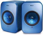 KEF Wireless Speakers (LSX Wireless Speakers, Speaker Pair, Blue)