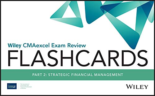 Download Wiley CMAexcel Exam Review 2020 Flashcards: Part 2, Strategic Financial Management 1119594138