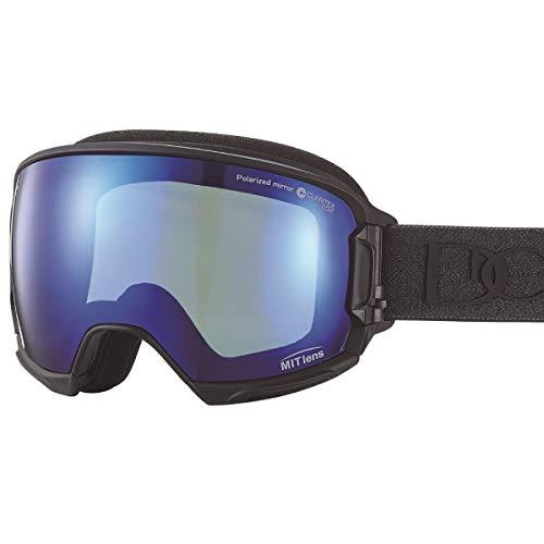 【国産ブランド】DICE(ダイス) スキー スノーボード ゴーグル ハイローラー 剥がれない MITミラー 偏光 プレミアムアンチフォグ HR80893MBK