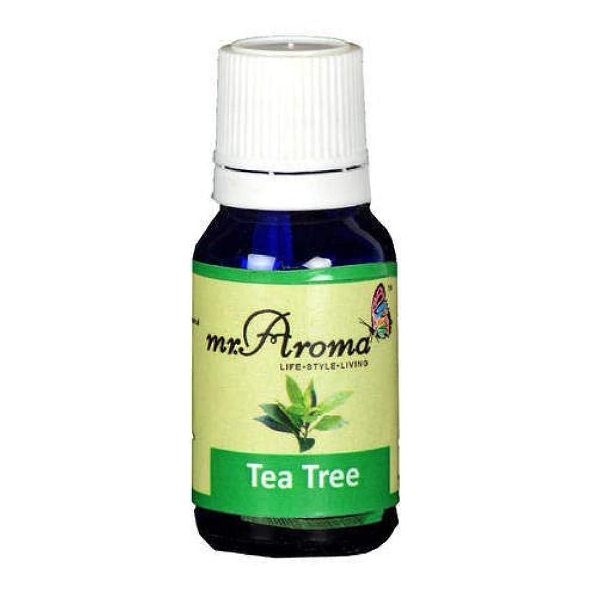 直立溶岩自動車Mr. Aroma Tea Tree Vaporizer/Essential Oil 15ml