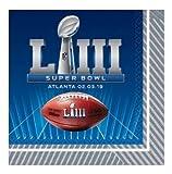 Super Bowl LIII ランチョンナプキン 36枚パック