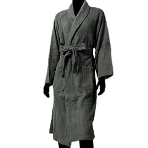 サッと着られるバスローブ【グレー】