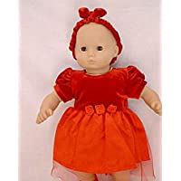 Fits 38cm - 41cm American Girl Bitty Baby Christmas Dress and Standard 38cm - 41cm Sized Dolls