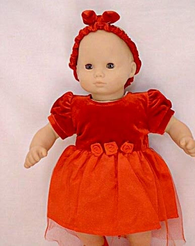 Fits 38cm - 41cm American Girl Bitty Baby Christmas Dress and Standard 38cm - 41cm Sized Dolls