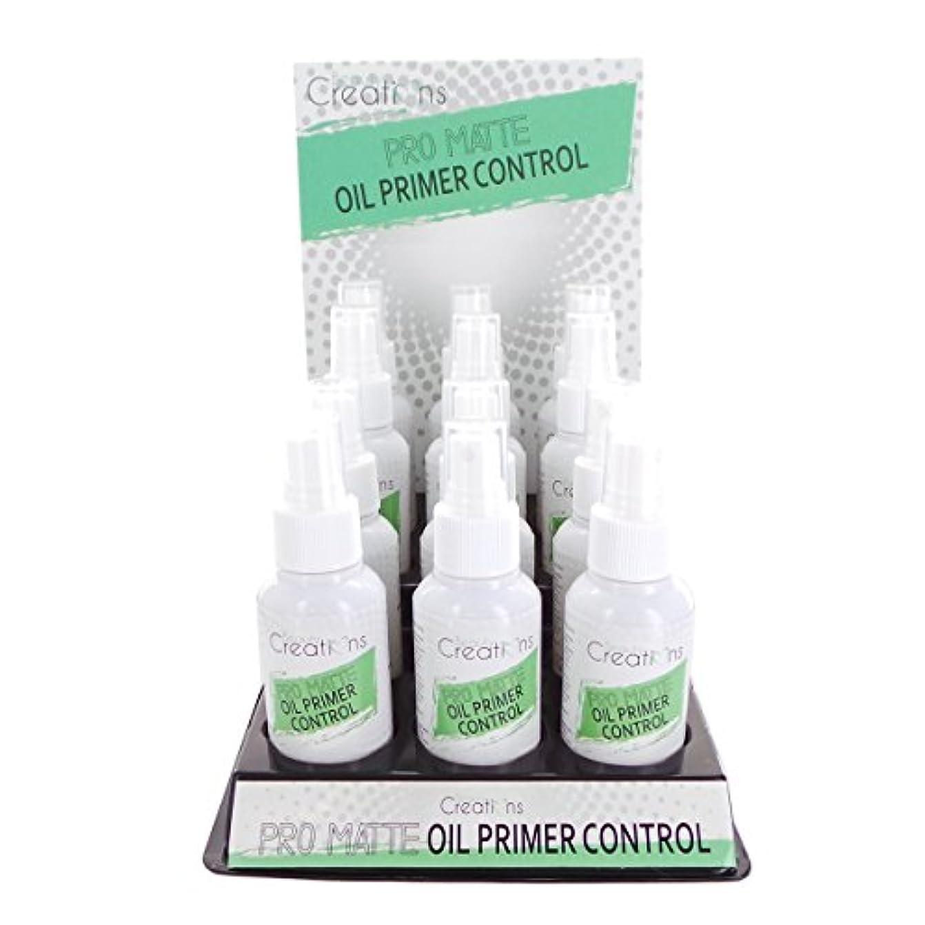 通り抜けるアクティビティ着替えるBEAUTY CREATIONS Pro Matte Oil Primer Control Spray Display Set, 12 Pieces (並行輸入品)