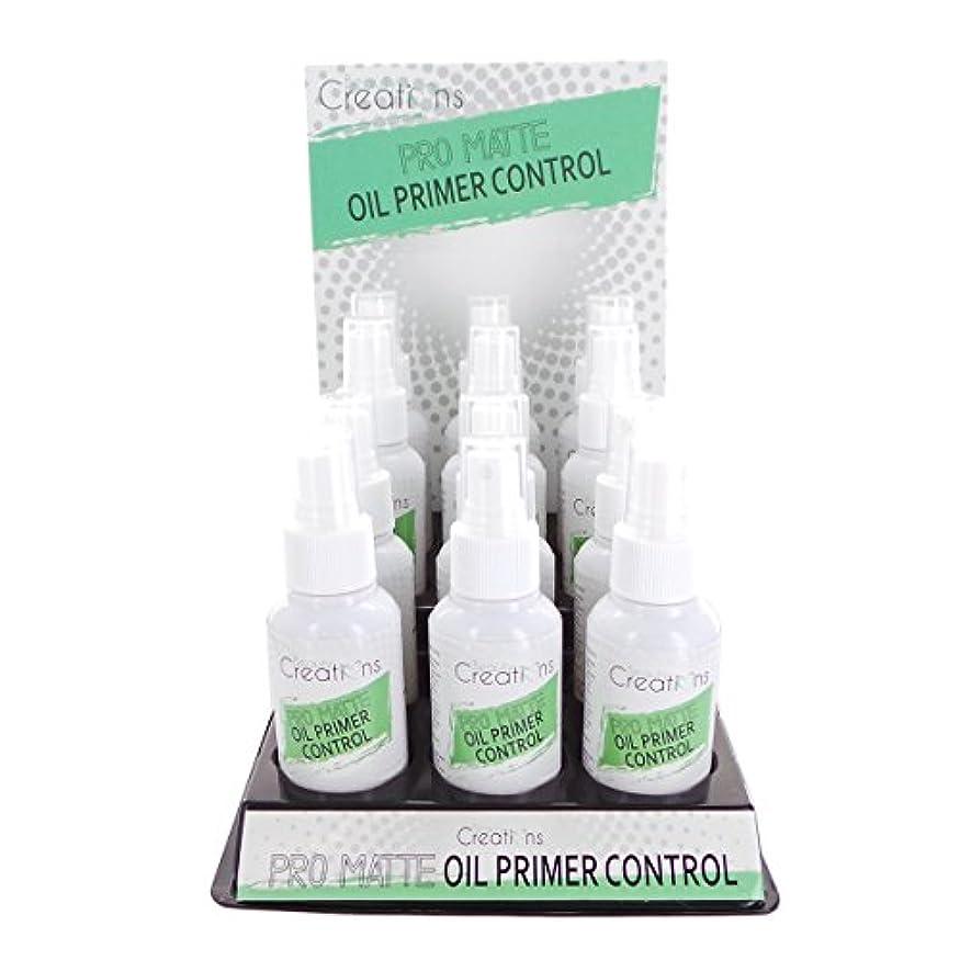 散髪滝先BEAUTY CREATIONS Pro Matte Oil Primer Control Spray Display Set, 12 Pieces (並行輸入品)
